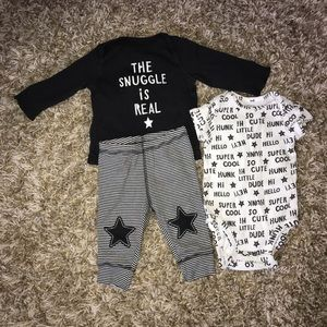 Carter's 3 month pajamas